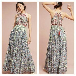 NWT Anthropologie Bhanuni Maxi Dress 14